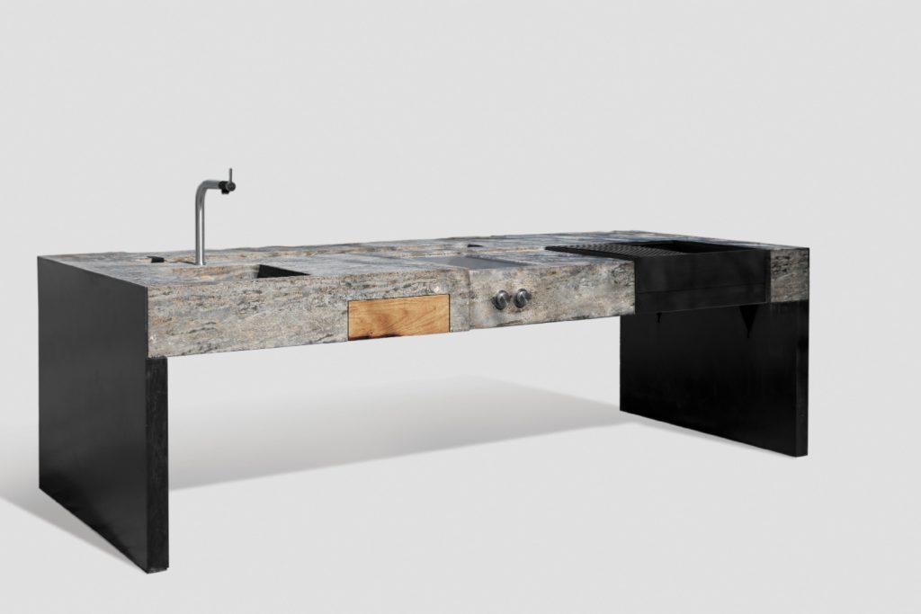 Die Gartenküche aus Stein, MKA01