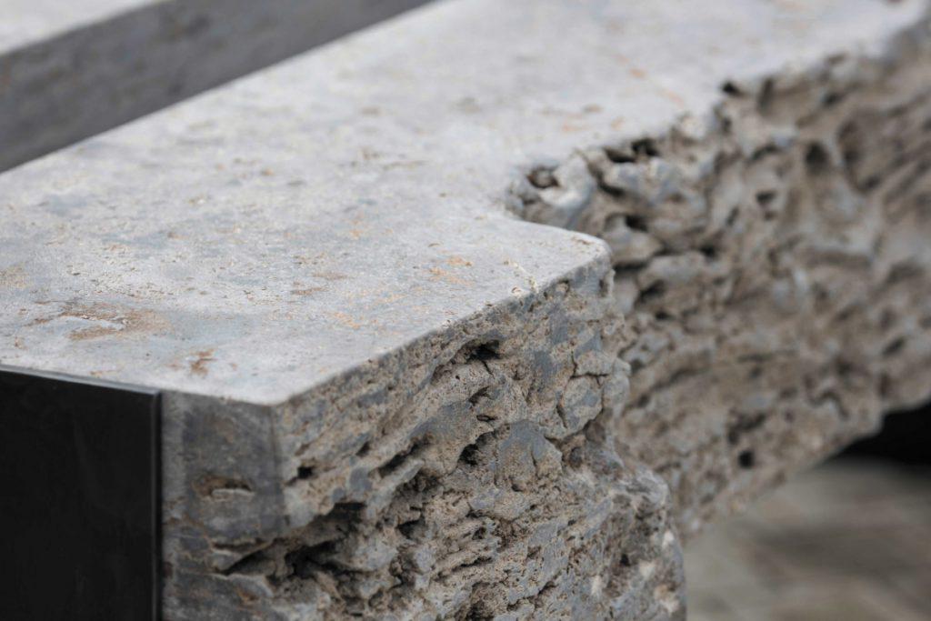 Die Gartenküche aus Stein, MKA01 Naturstein Detail