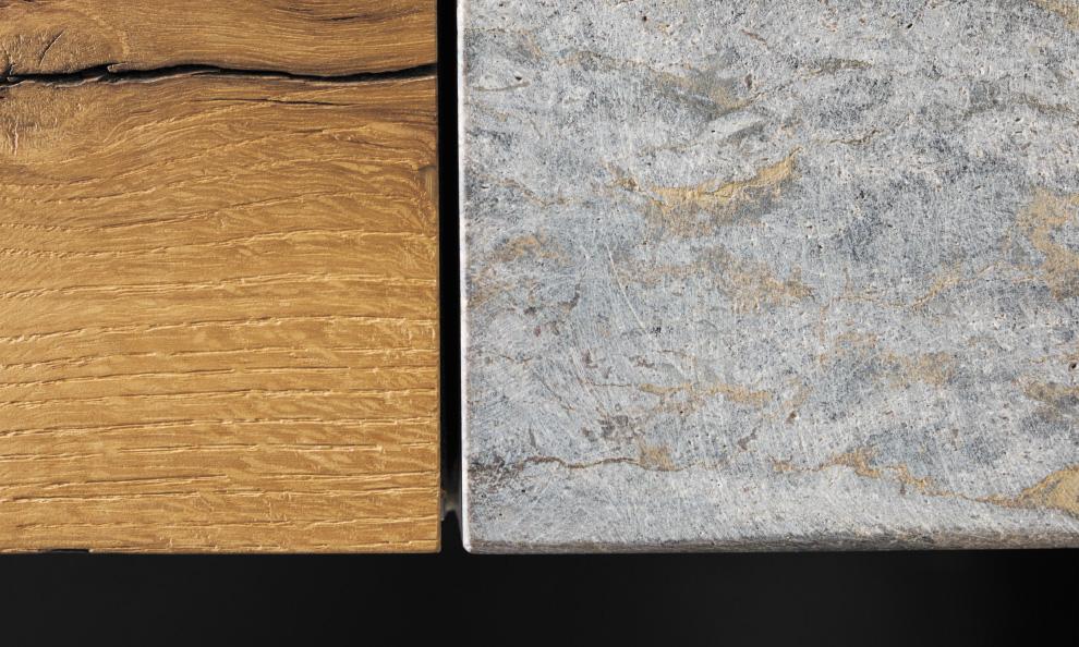Die Gartenküche aus Stein, MKA01 Detail