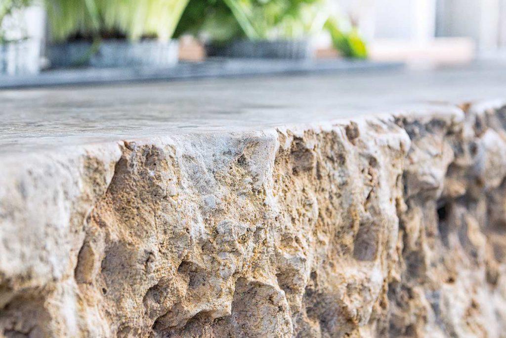 Die Gartenküche aus Stein, WADO14 Naturstein